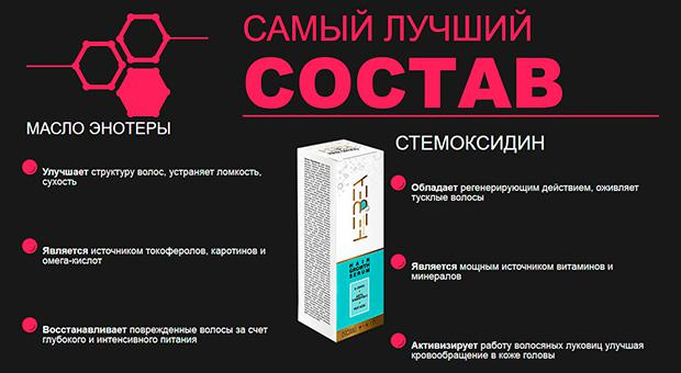 Состав препарата Hair Drugs